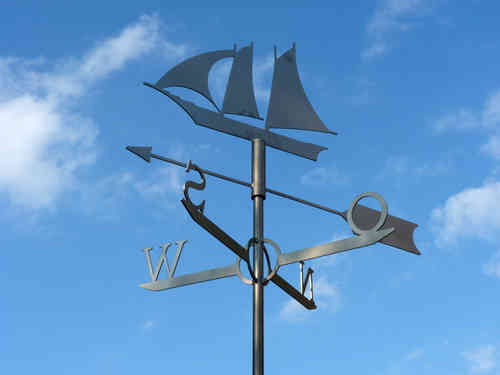Weathervane Sailing ship