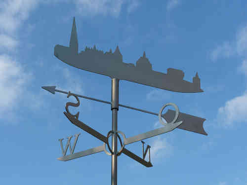 Rostock weathervane