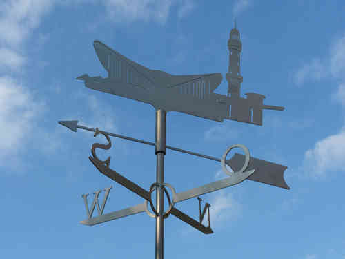 Warnemünde weathervane